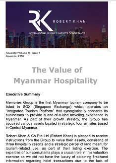 The Value of Myanmar Hospitality